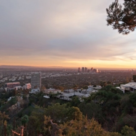Time lapsed view of #LosAngeles from a home we are designing in the hills. #beautiful #city #skyline