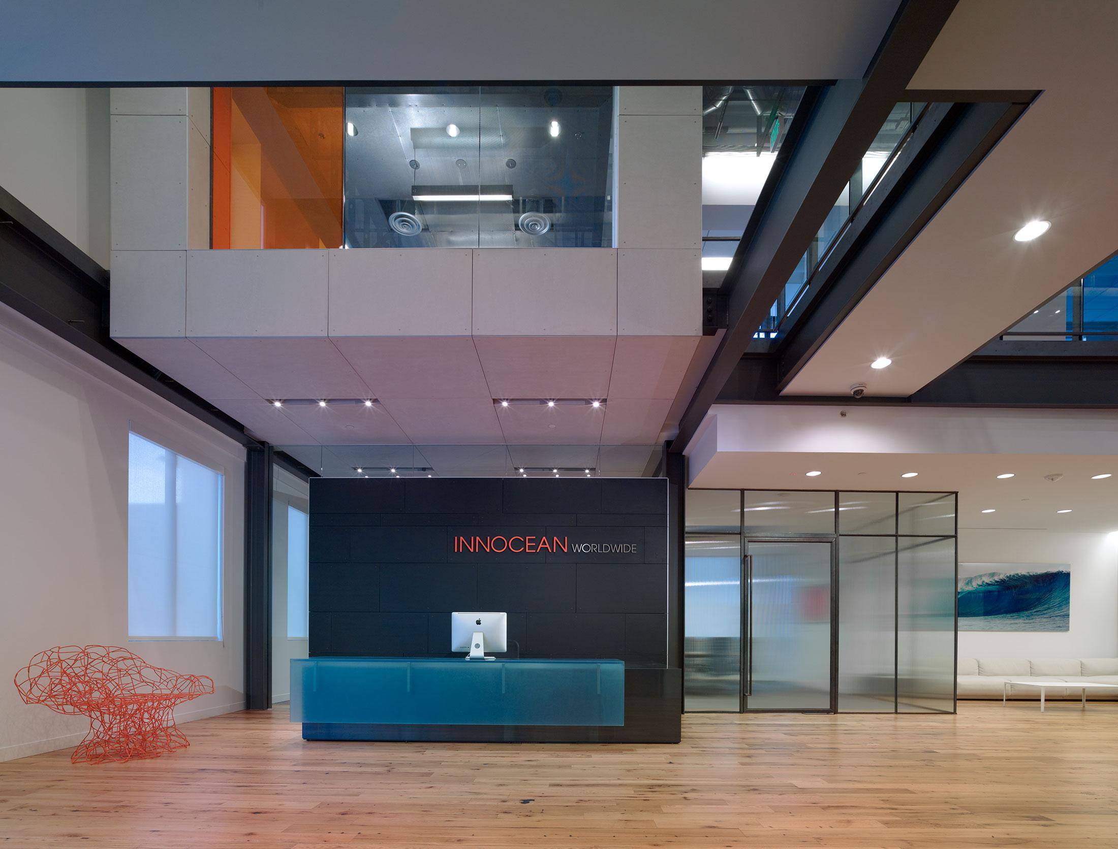 Innocean shubin donaldson for Commercial furniture interiors