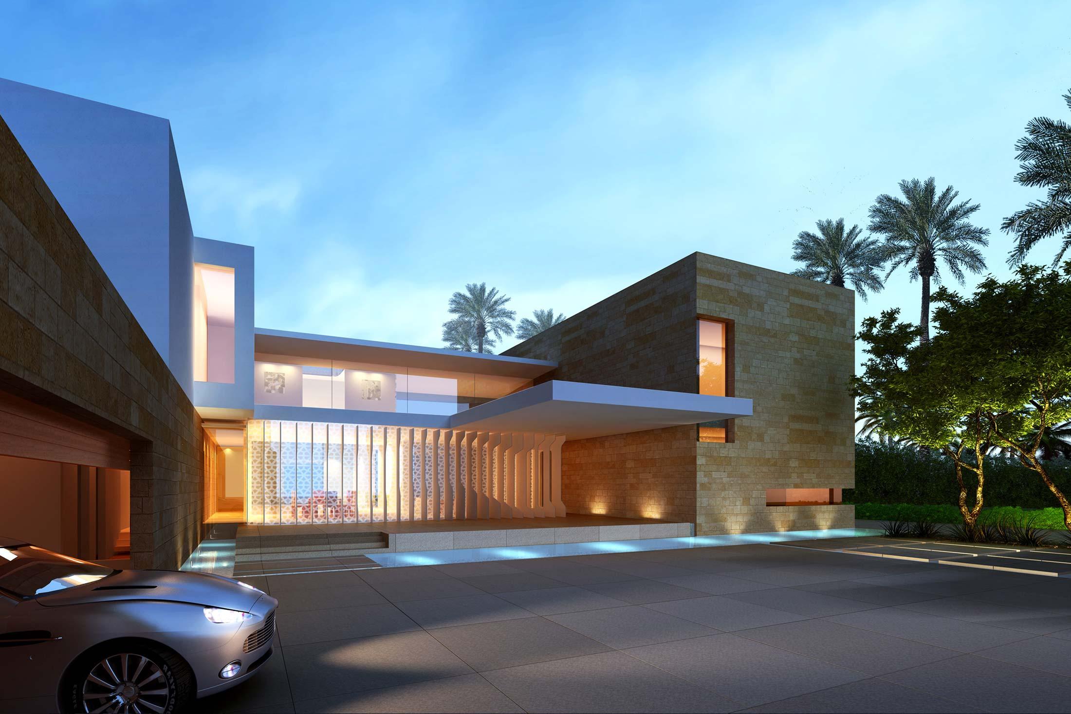 Modern Architecture Villas dubai villas | shubin donaldson