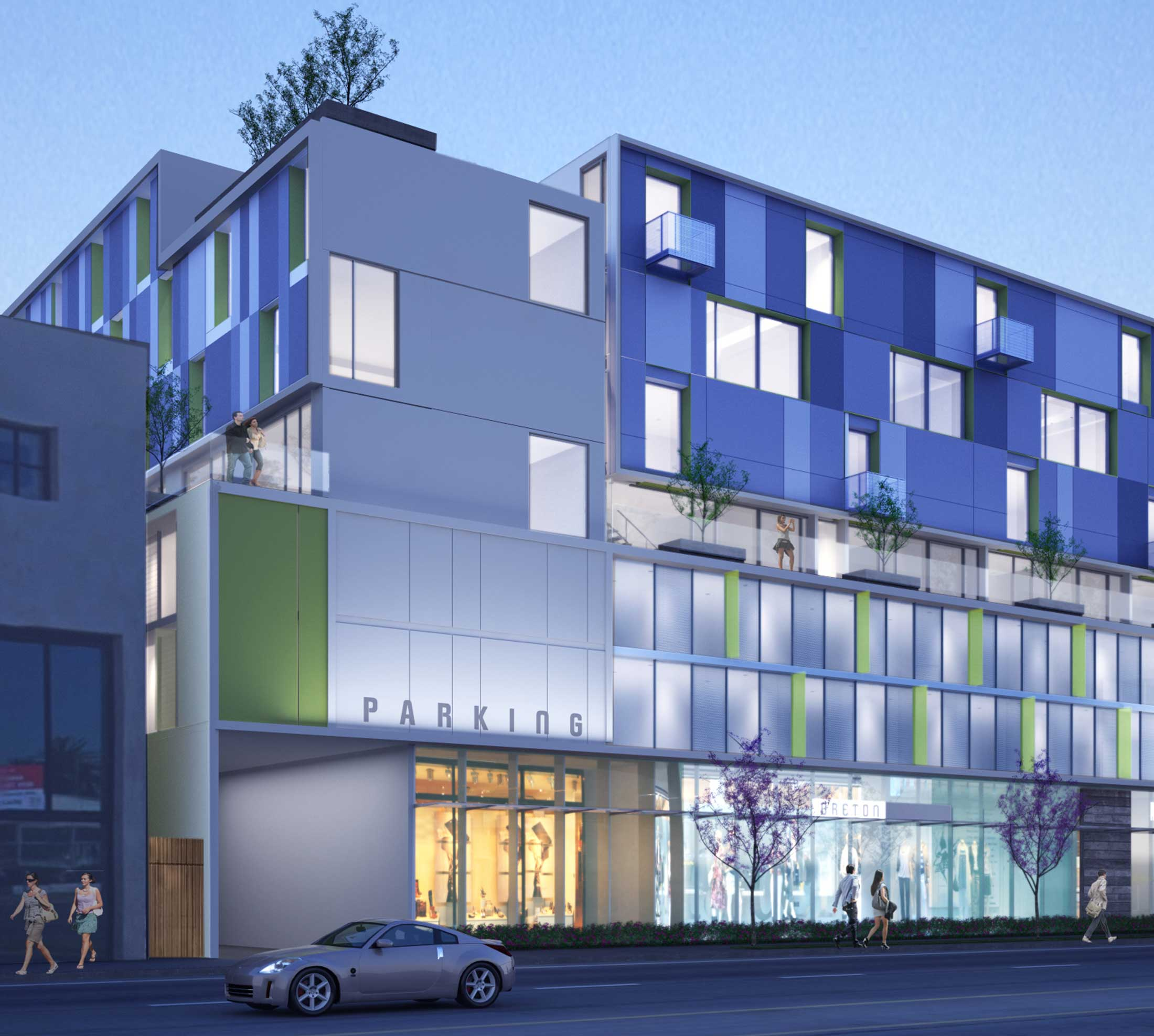 Brea Apartments: 900 La Brea Mixed Use
