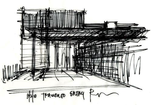 Tramonto 08.02.10 Exterior Study Perspective