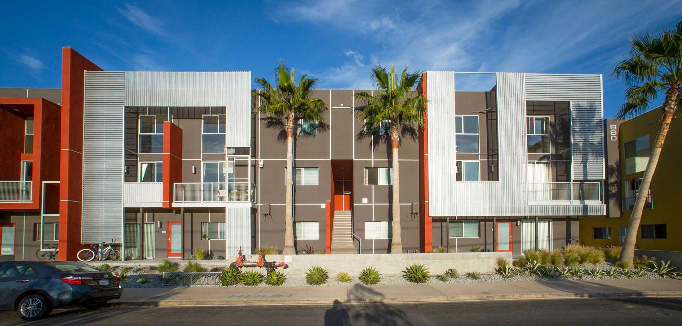 Iv housing shubin donaldson for Multi family living