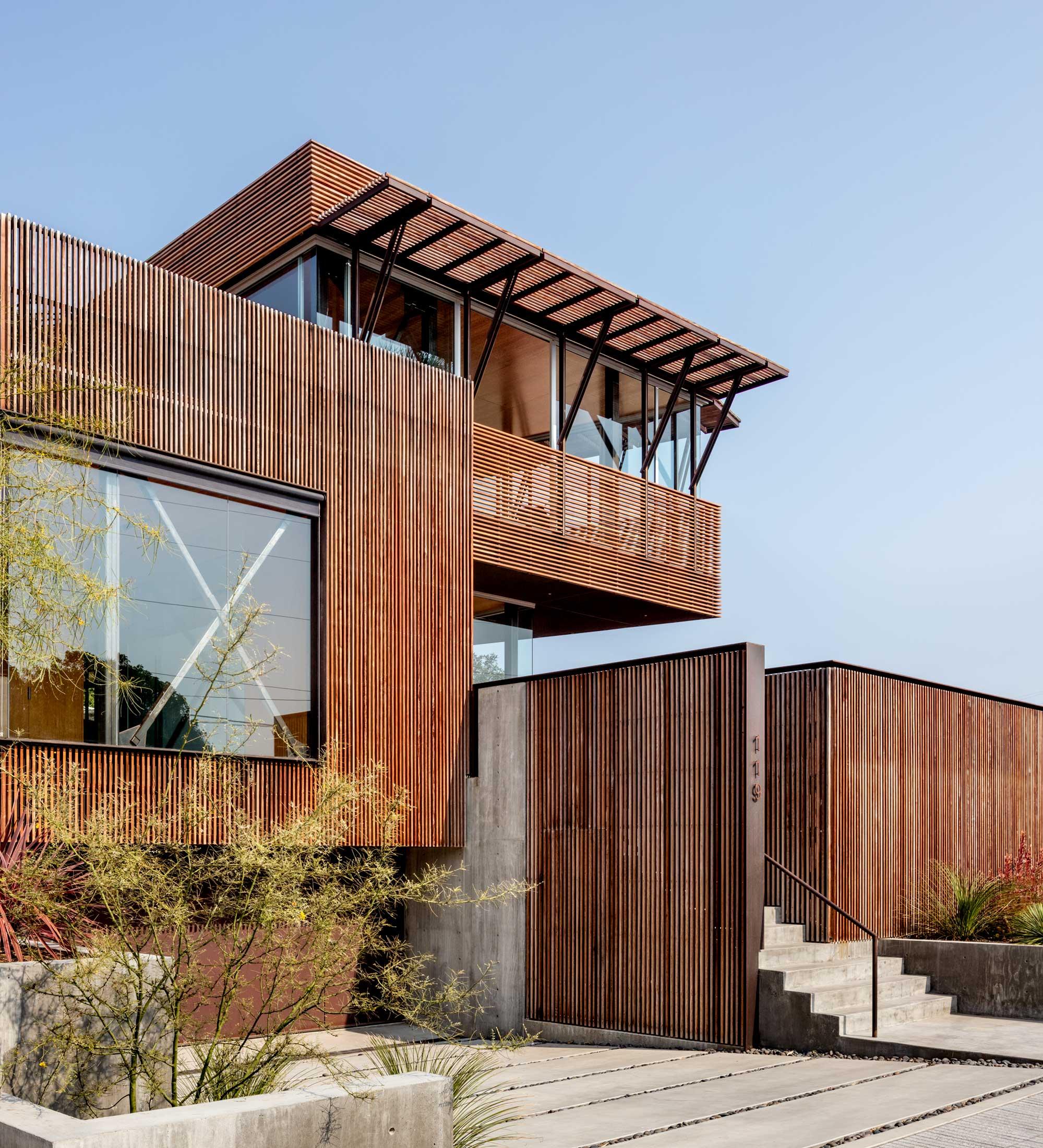 Skyline residence shubin donaldson for Modern residential architects